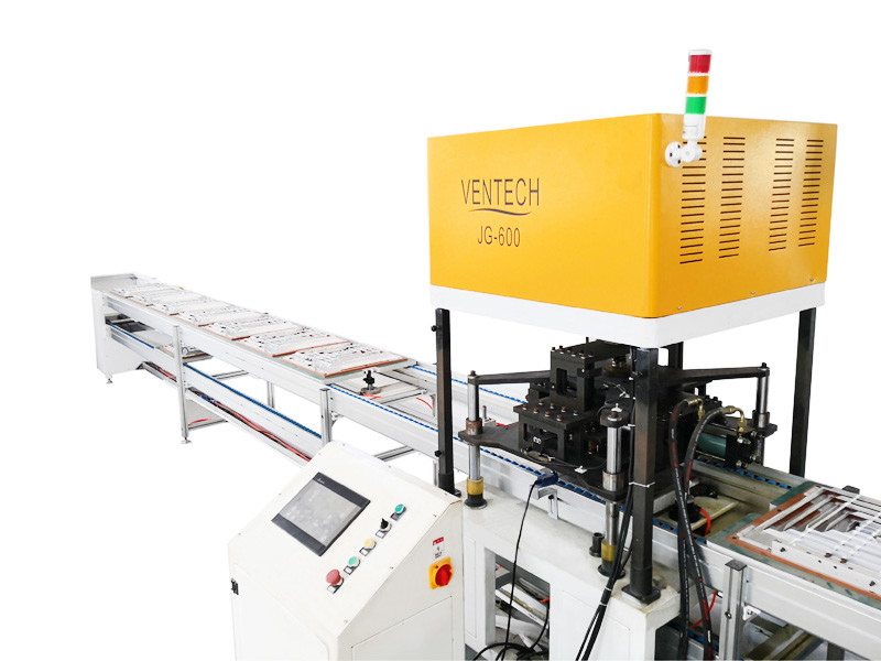 Square Diffuser assembly machine VDM-600
