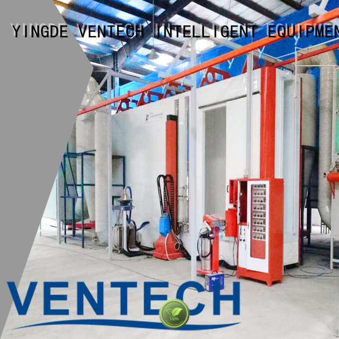 VENTECH powder coating machine wholesale for work place