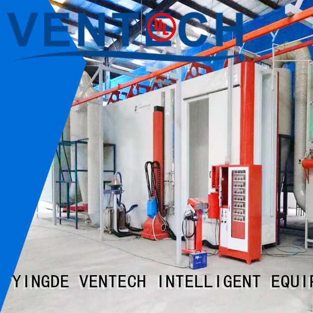 VENTECH powder coating machine manufacturer for factory