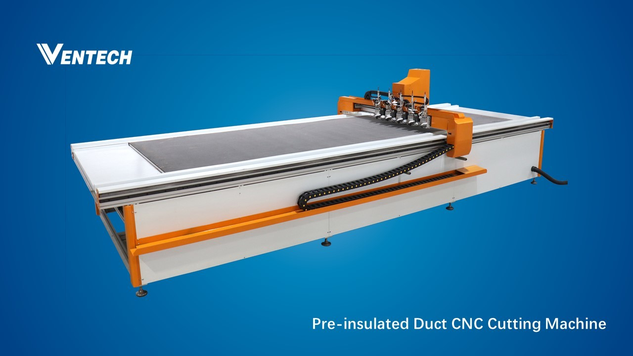 Pre-insluated Duct Panel Cutting Machine