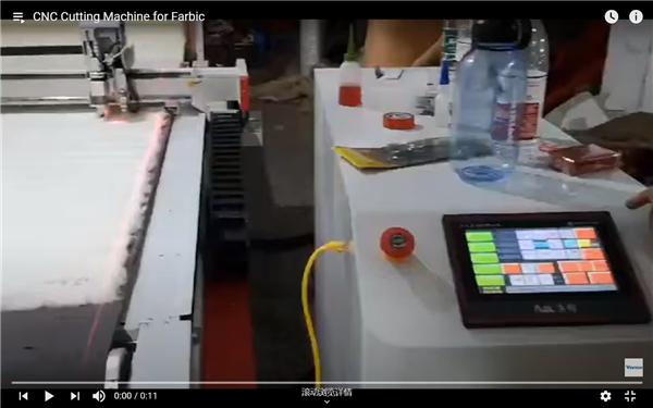 CNC Cutting Machine For Fabric