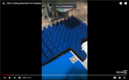 CNC Cutting Machine For Rubber
